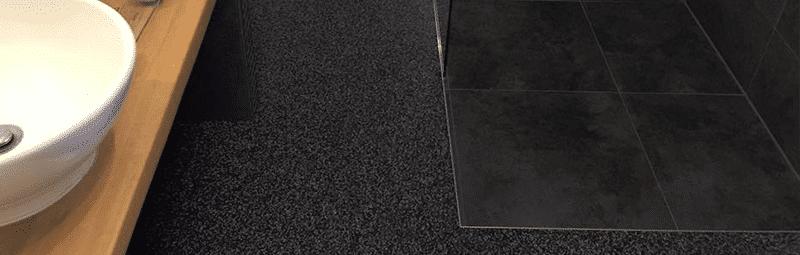 vloeren grindvloeren badkamer
